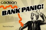 Bank Panic iPhone Title Screen