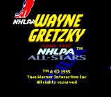 Wayne Gretzky and the NHLPA All-Stars SNES Title screen