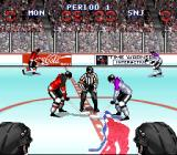 Wayne Gretzky and the NHLPA All-Stars SNES Face off