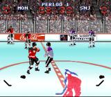 Wayne Gretzky and the NHLPA All-Stars SNES Fight