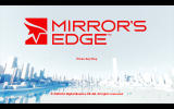 Mirror's Edge Windows Title screen