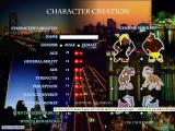 Full Moon in San Francisco Windows Character Generation Screen