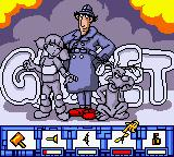 Inspector Gadget: Operation Madkactus Game Boy Color Character and weapon select