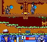 Inspector Gadget: Operation Madkactus Game Boy Color A troll of some sort fires at our hero.