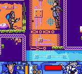 Inspector Gadget: Operation Madkactus Game Boy Color This jump seemed like a good idea at the time...