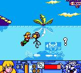 Inspector Gadget: Operation Madkactus Game Boy Color The little girl engages in extreme submarine combat.