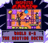Inspector Gadget: Operation Madkactus Game Boy Color Final world... second area