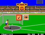 Olympic Gold: Barcelona '92 Game Gear The hammer throw