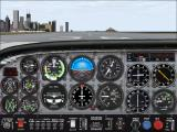Microsoft Flight Simulator 2000 Windows Cessna 182S at Meigs Field