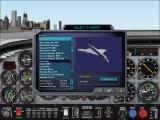 Microsoft Flight Simulator 2000 Windows Aircraft selection in Professional Edition