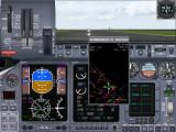 Microsoft Flight Simulator 2000 Windows Learjet cockpit and control panels