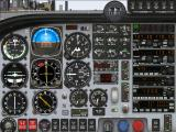 Microsoft Flight Simulator 2000 Windows Mooney Bravo IFR instrument panel