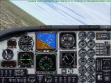 Microsoft Flight Simulator 2000 Windows Inside the King Air 350