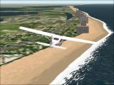 Microsoft Flight Simulator 2000 Windows Checking out scenic Miami.