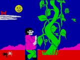Jack and the Beanstalk ZX Spectrum Jumping from the beanstalk.