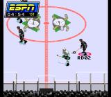 ESPN National Hockey Night SNES Skating with the puck.