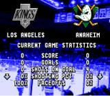 ESPN National Hockey Night SNES Game stats