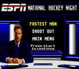 ESPN National Hockey Night SNES Challenge mode challenges