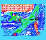 Spitfire '40 MSX Title screen