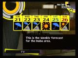 Shin Megami Tensei: Persona 4 PlayStation 2 Keep an eye on the weather report