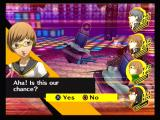 Shin Megami Tensei: Persona 4 PlayStation 2 When all enemies are knocked down, you can attack as a group