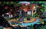 King's Quest V: Absence Makes the Heart Go Yonder! Amiga Starting the game
