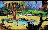 King's Quest V: Absence Makes the Heart Go Yonder! Amiga There is a weeping willow with a harp here