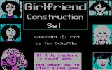 Girlfriend Construction Set DOS Title screen