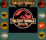 The Lost World: Jurassic Park Game Boy Title screen (Super Game Boy)
