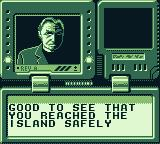 The Lost World: Jurassic Park Game Boy Received a message.