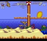Rocko's Modern Life: Spunky's Dangerous Day SNES Watch out for the crab