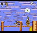 Rocko's Modern Life: Spunky's Dangerous Day SNES Get Spunky to the hydrant to finish this level