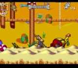 Rocko's Modern Life: Spunky's Dangerous Day SNES The next level begins