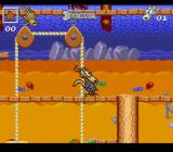 Rocko's Modern Life: Spunky's Dangerous Day SNES A pulley