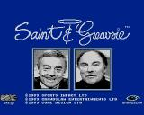 Saint and Greavsie Amiga Title