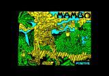 Mambo Amstrad CPC Title screen