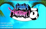 Frank's Adventure 3 Browser Title screen