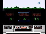 RoadBlasters NES Choose a starting level