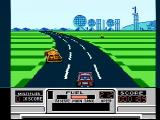 RoadBlasters NES Starting a game