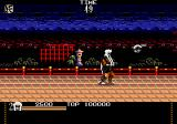 Mystical Fighter Genesis The hand tells the player to move forward