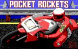 Pocket Rockets DOS Title screen (EGA)