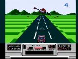 RoadBlasters NES Some additional weapons are flown in