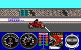 Pocket Rockets DOS Ready to begin the Capcom Speedway race? (EGA)