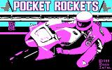 Pocket Rockets DOS Title screen (CGA)