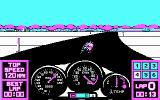 Pocket Rockets DOS Road racing (CGA)
