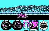 Pocket Rockets DOS Drag racing (CGA)