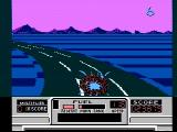 RoadBlasters NES Oops, a crash!