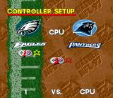 Madden NFL 97 SNES Controller select