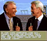 Madden NFL 97 SNES John Madden on the Panthers