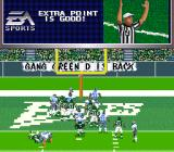 Madden NFL 97 SNES Extra point good